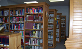 Upstairs reference stacks