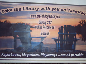 Display Library On Vacation