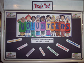 Display Volunteer Week